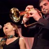 Lisa and John Lake at Dazzle Jazz.  photo by marc sabatella.